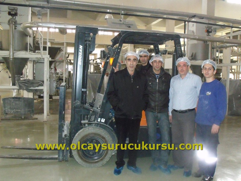 İstanbul Halk Ekmek Forklift Eğitimi