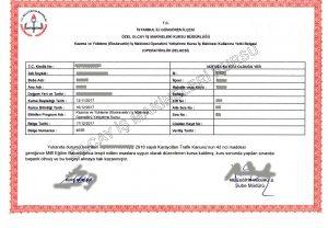ekskavatör belgesi, ekskavatör sertifikası, ekskavatör lisansı, ekskavatör ehliyeti