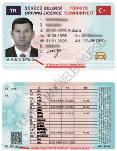 2018 yılı forklift ehliyeti, yeni tip forklift ehliyeti, forklift ehliyeti emniyet masrafları
