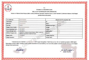 bekoloder operatörlük belgesi, kepçe sertifikası, kazıcı yükleyici belgesi