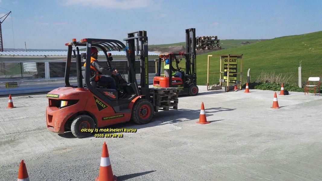 Forklift ehliyeti veren kurslar Esenyurt