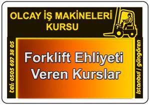 Forklift ehliyeti veren kurslar