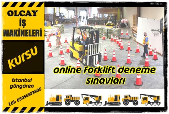 Forklift Belgesi Sınav Soruları 3