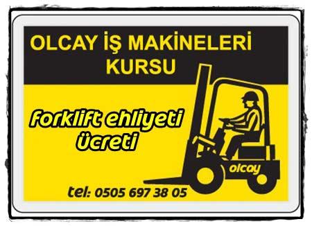 Forklift ehliyet ücreti